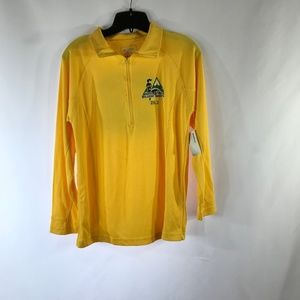 10K FT ABOVE SEA LEVEL YELLOW SIZE S PULL OVER NWT